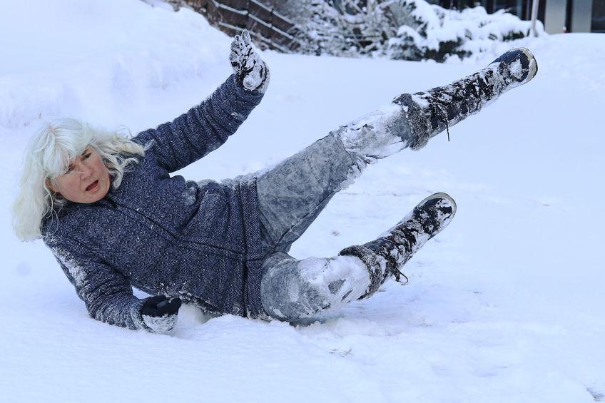 Preventing Seniors from Winter Slips and Falls